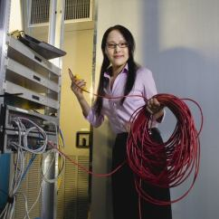 Telephone Patch Panel Wiring Diagram Rover 25 Tailgate 6 Steps For Setting Up A Server Room Your Small Business Cio Female Worker Data Center