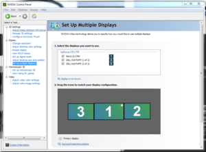 nvidia sarah multiple displays