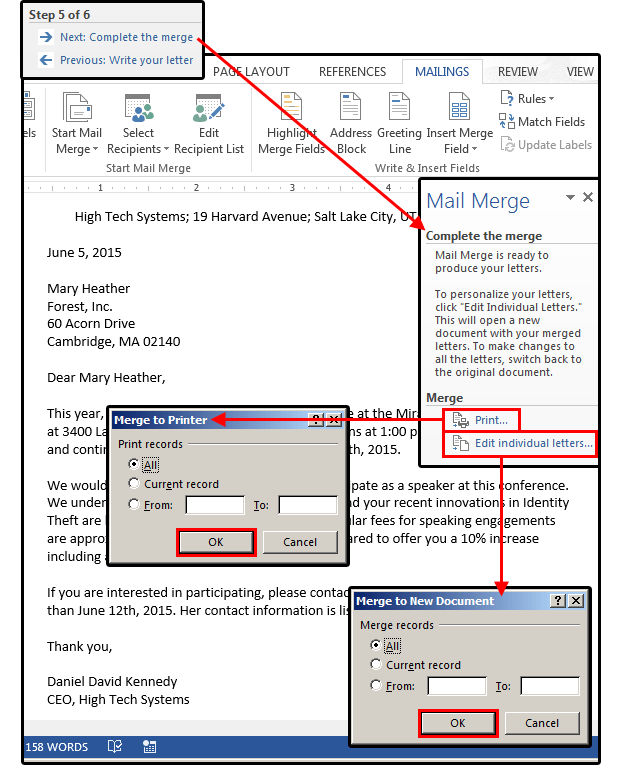 Mail Merge Excel To Excel : merge, excel, Merge, Master, Class:, Excel, Contact, Database, Custom, Letters, PCWorld
