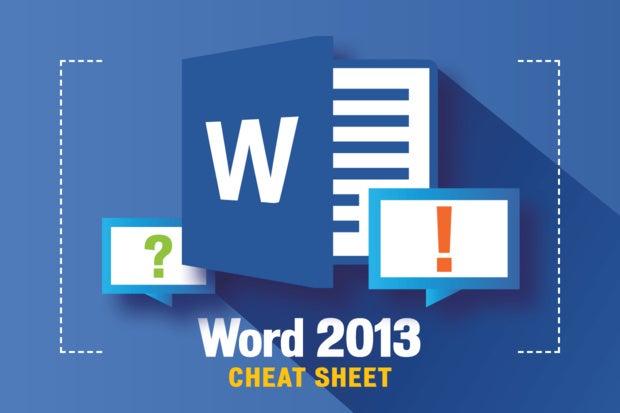 Microsoft Wallpaper Slideshows Fall Word 2013 Cheat Sheet Computerworld