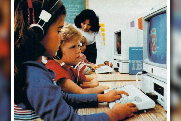 9 awesome photos of school computer labs from the 1980s  PCWorld
