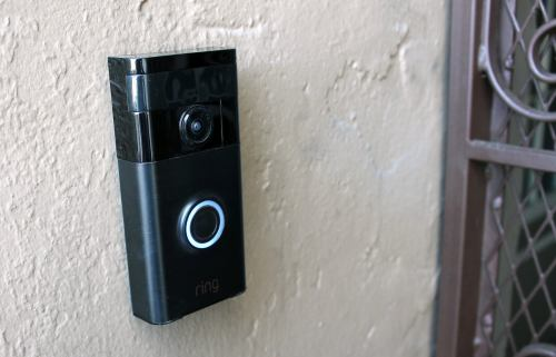 small resolution of as soon as a visitor hits the button a blue light races around the circumference of the button and the doorbell emits a loud chime sound