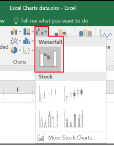 Waterfall shows value trends also excel charts how to use the new pareto histogram and rh pcworld