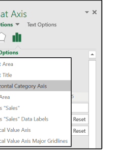 Under axis options select number of bins and change it to for the overflow bin enter underflow also excel charts how use new pareto histogram rh pcworld
