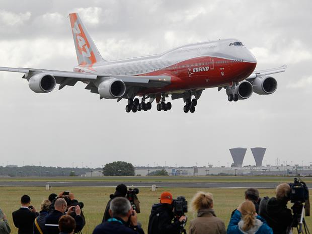 the iconic boeing 747