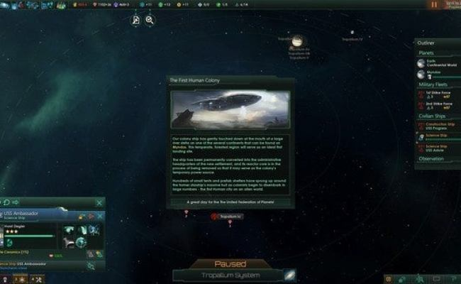 Stellaris Review Etch Your Stories Across The Stars In