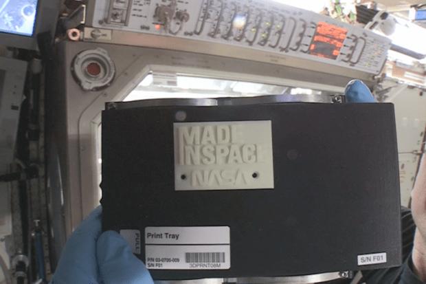 NASA 3D printer