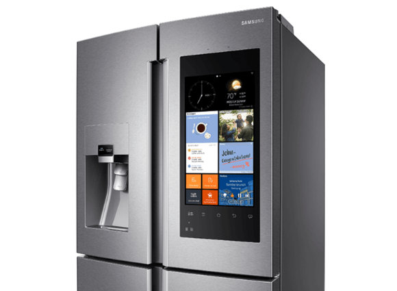 Samsungs overthetop Family Hub smart fridge is now on sale