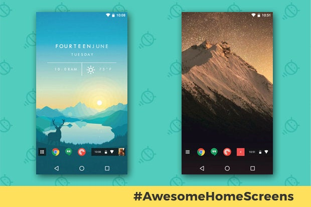 Awesome Android Home Screens The Chrome Phone Computerworld