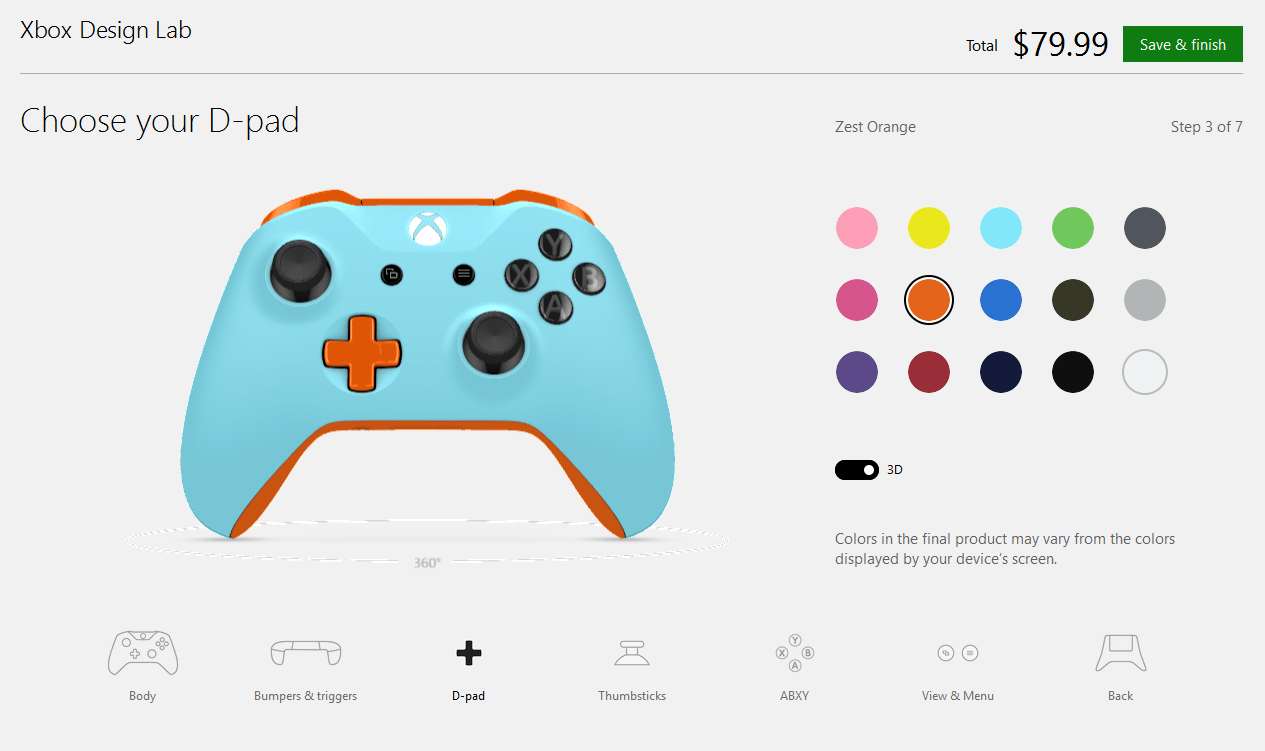 hight resolution of artistic expression xbox design lab