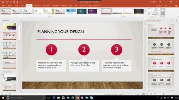 microsoft powerpoint designer
