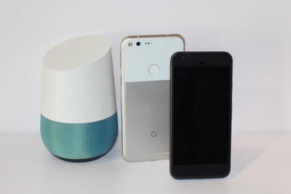 google home pixels