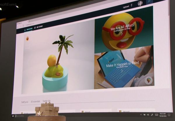 Windows 10's new Paint 3D app drags physical objects into ...