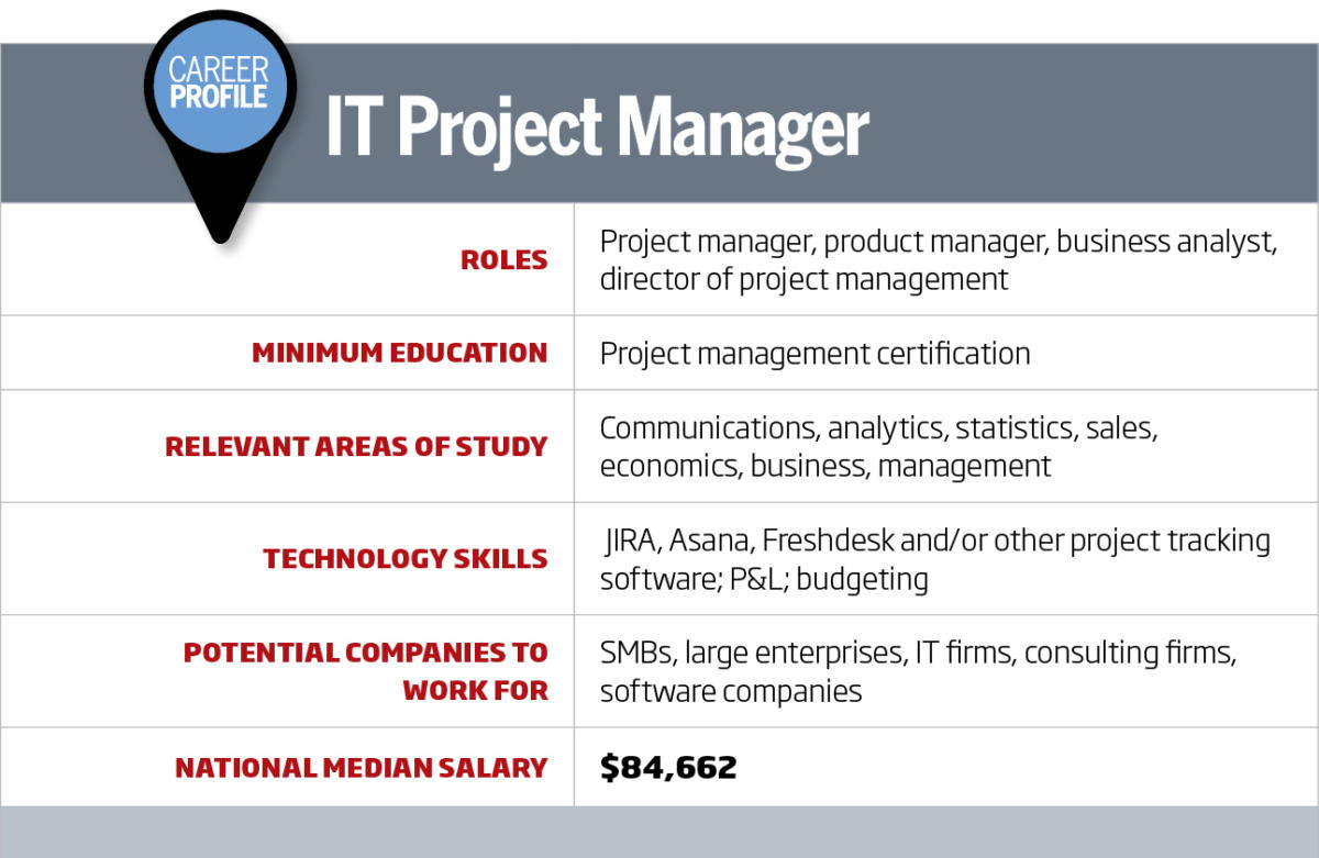 It Career Roadmap It Project Manager Cio