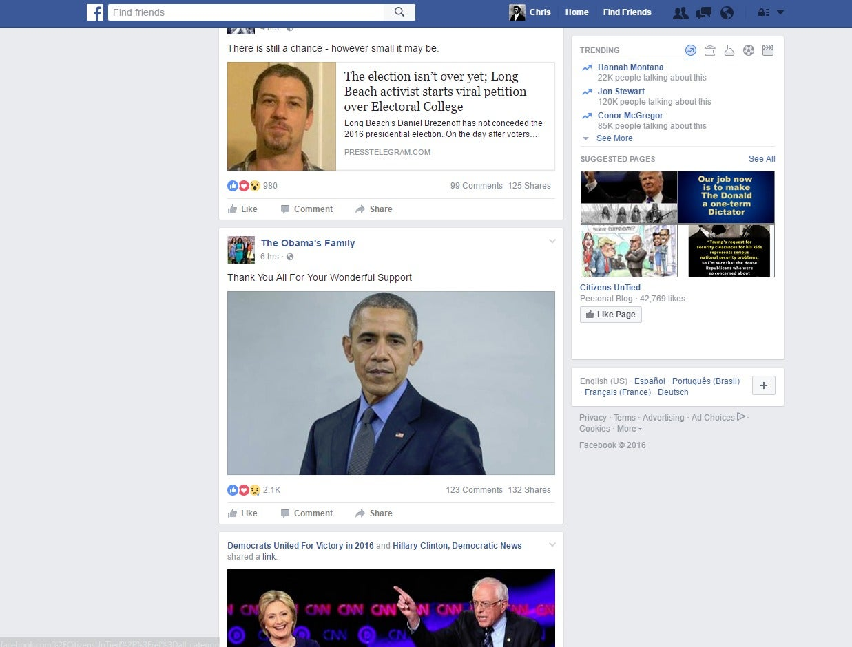 Just How Partisan Is Facebook S Fake News We Tested It