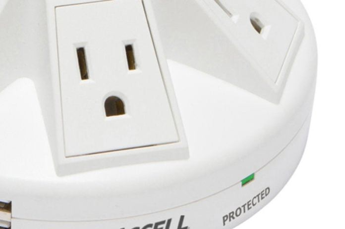 protected indicator on surge protector