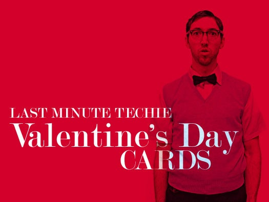 Geeky Valentines Day Cards Network World