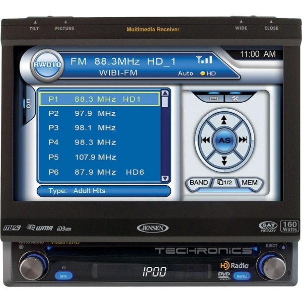 Unlock Panasonic Flip Screen Car Radio - Year of Clean Water