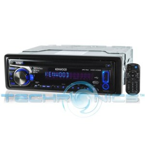 Kenwood KDCX395 InDash CD Receiver With iPod Connectivity
