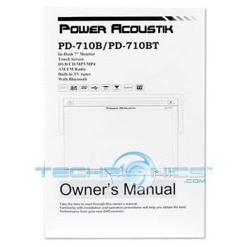 Power Acoustik PD-710B 7