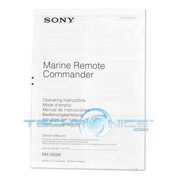 Sony RMX60M/L Marine Wired Remote Commander Control