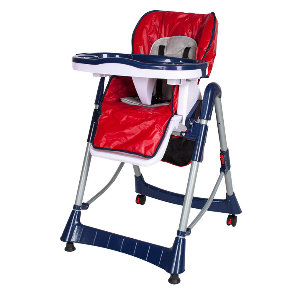 Adjustable High Chair Foldable Baby High Chair Recline Highchair Height