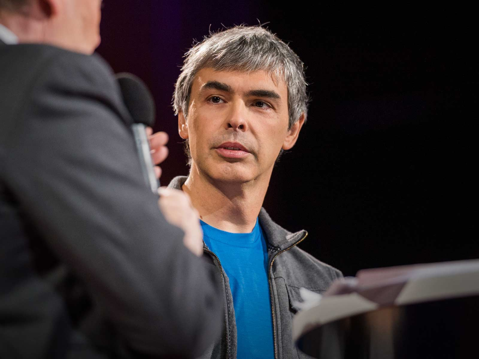 Google's Larry Page at TED talk