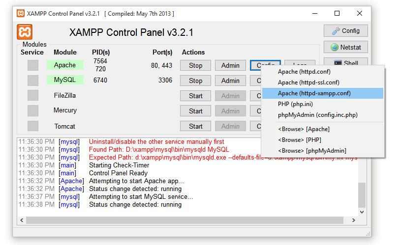 Xampp download php 5.3