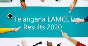 Telangana EAMCET Results 2020