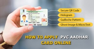 How to Apply PVC Aadhar Card online