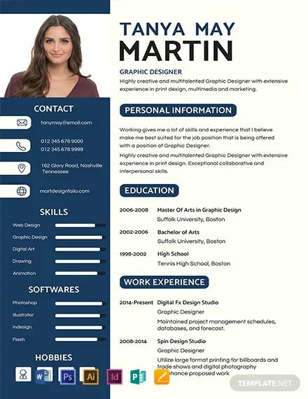 editable cv format download free word