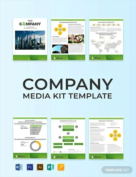 FREE Creative Company Media Kit Template Download 29 Media Kits in PSD Word Publisher