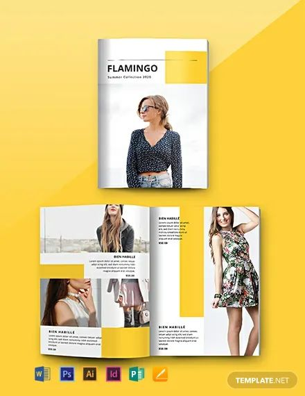 catalog word template