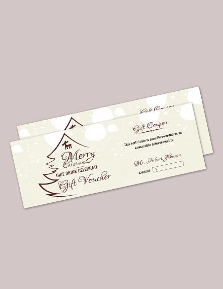 8 Christmas Gift Certificate Ideas U2014 Rapic Designchristmas Gift