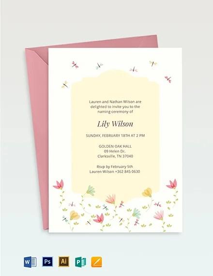ceremony invitation designs templates