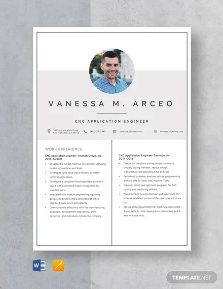 Advanced Semiconductor Engineer Resume Template Download