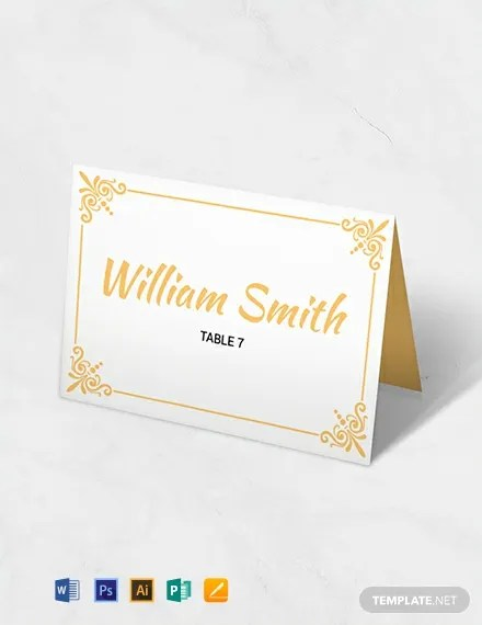 11 free place card