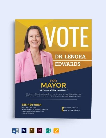 23 political flyer designs