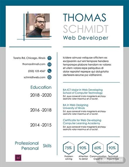 executive 1 page resume templates free download