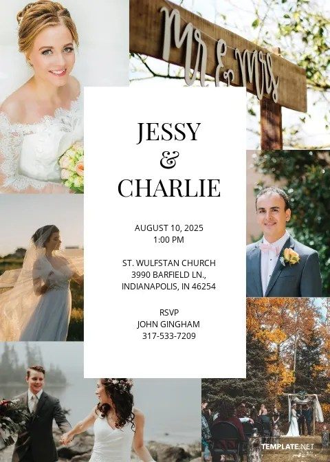 196 free wedding invitation templates