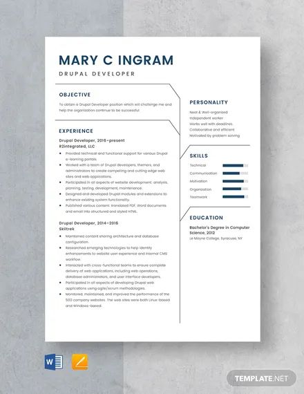 etl developer resume templates