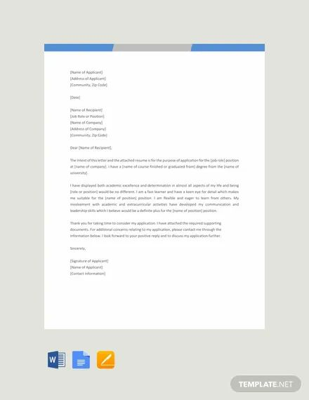 letter to the editor templates