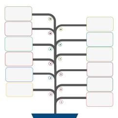 Tree Diagram Microsoft Word Hps Ballast Wiring Blank Flow Chart Template In | Template.net