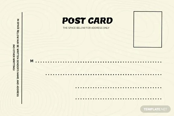 While there are several programs that let you make y. Free Printable Postcard Templates In Adobe Photoshop Psd Template Net