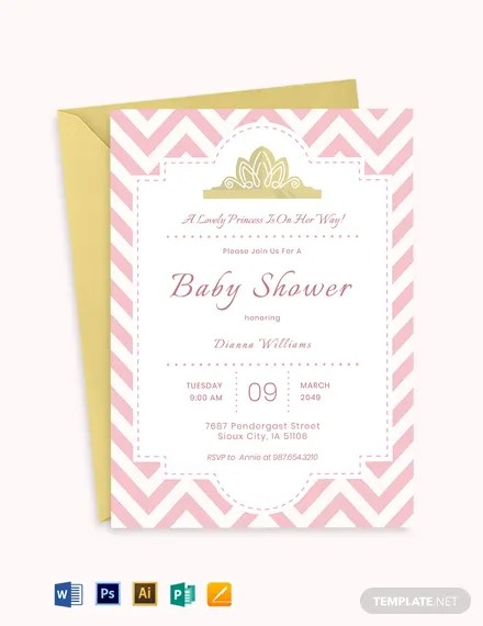 19 Free Baby Invitation Templates