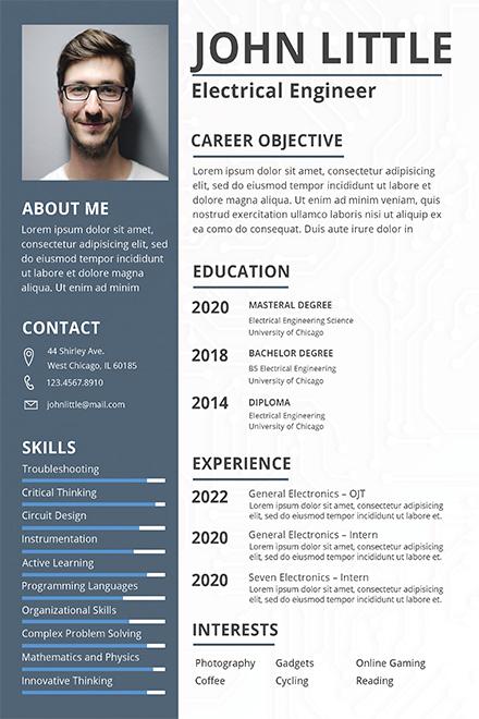 adobe free resume templates