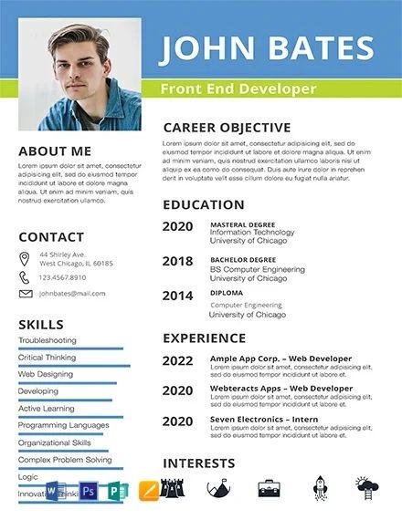 social media marketing resume description