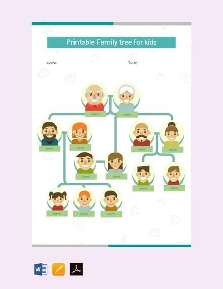 How To Make A Family Tree On Google Slides : family, google, slides, Family, Templates, Google, Template.net