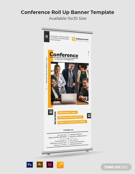 All content of these presentations are authored by their respective presenters and are intended for training purposes only; Conference Roll Up Banner Template Illustrator Indesign Apple Pages Psd Template Net