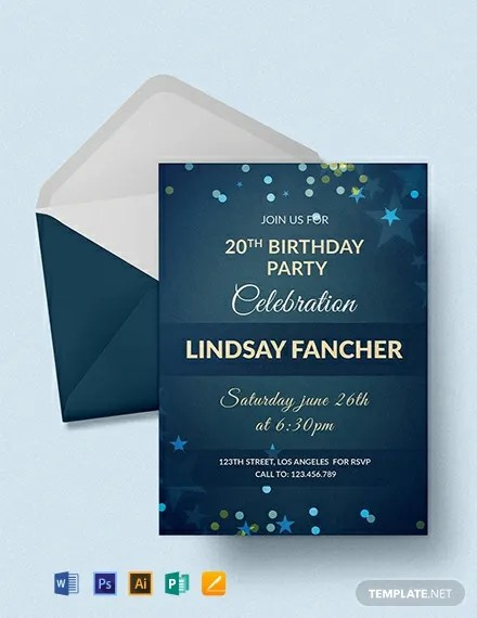 1001 free invitation templates